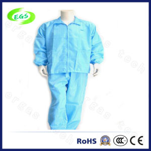 Polyester ESD Antistatic Shirts and Trousers Jackets (EGS-21) pictures & photos