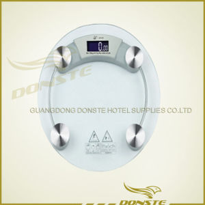 Round Glass Digital Weight Scale pictures & photos