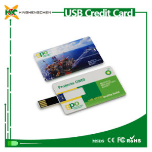 High Speed Credit Card Model USB Memory Stick pictures & photos