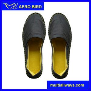New Fashion Men PE Sole Canvas Sport Slipper Shoes (14D133) pictures & photos
