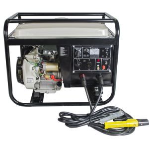 5kw Portable AC DC Welding Electric Start Gasoline Generator pictures & photos