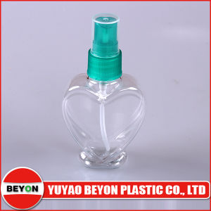 80ml Heart Shaped Plastic Pet Bottle for Cosmetic Packaging pictures & photos