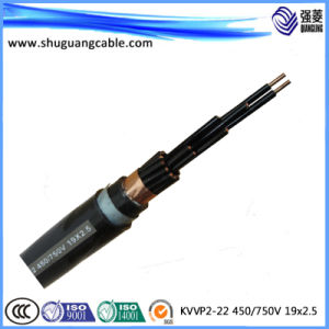 PVC Insulation and Sheath Shielded Armored Control Cable pictures & photos