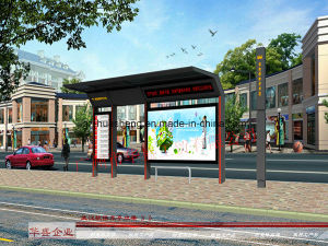 Bus Shelter for Public Display (HS-BS-F009) pictures & photos