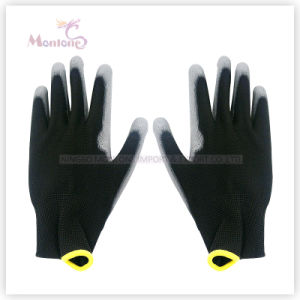 13gauge Palm Coated/Dipped PU Work Safety Garden Gloves pictures & photos