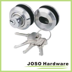 China round design crystal door locks key security lock for 007 door locks