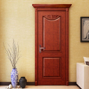 Oppein Classic Red Cherry Solid Wood Interior Door (MSGD11) pictures & photos