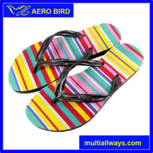 Casual Style PE Women Beach Flip Flops Slipper pictures & photos