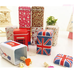 High Quality Wholesale Money Box Custom Metal Souvenir Box pictures & photos