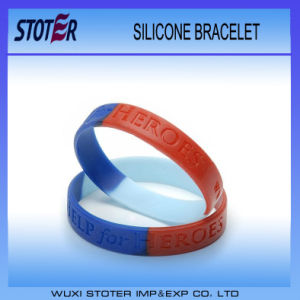 Charming All Colors Band Custom Logo Silicone Rubber Wristbands pictures & photos