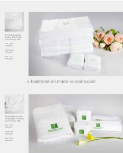 100% Cotton Face and Hand Towels for Hotel Restaurant pictures & photos
