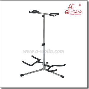 Vertical Double Guitar Stand Holder (STG102) pictures & photos