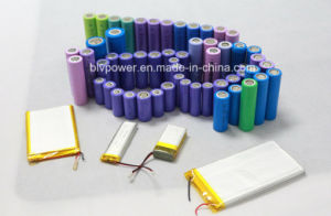 3.7V Lithium Ion Battery Cylindrical Battery Lithium-Ion Battery Rechargeable Battery pictures & photos