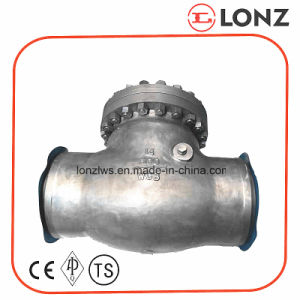 ANSI Cast Steel Wcb Bolted Cover Bw Swing Check Valve pictures & photos