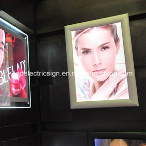 LED Ultra Thin Snap Frame Makeup Light Box pictures & photos