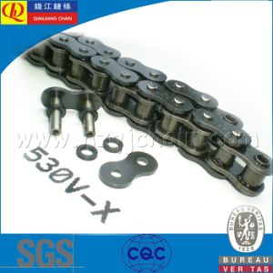 530V Standard X-Ring Motorcycle Chain with Black Plates pictures & photos