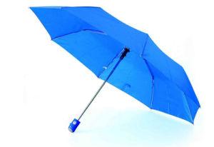 Pearl Fabric 3 Fold Auto Open Umbrellas (YS-3FA22083525R) pictures & photos