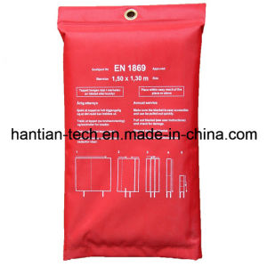 Different Size Fire Blanket Fire Fighting (1.5m*1.3m) pictures & photos