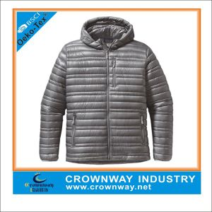Winter Performance Quilted Down Padded Jacket for Man pictures & photos