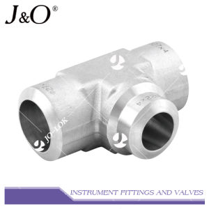 Swagelok Stainless Steel Weld End Tee Instrument Pipe Fitting pictures & photos