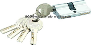 High Quality Brass/Zinc Computer Key Lock Cylinder (C3360-221 CP) pictures & photos