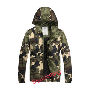 Men Camouflage Light Outdoor Spring/Autumn Fashion Jacket Coat (J-1601) pictures & photos