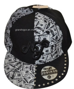 Big Size Ny Snapback Hat with Custom Printing Logo pictures & photos