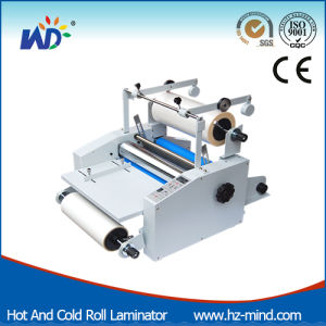 Professional Manufacturer Hot and Cold Roll Film Laminating Machine (WD-V370) pictures & photos