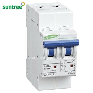 2 Pole DC550V Solar Circuit Breaker Manufacturer pictures & photos