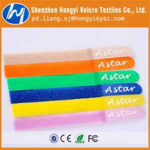 Nylon Useful Soft-Hook & Loop Velcro Cable Tie pictures & photos