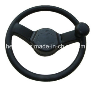 Steering Wheel for Load Carriers PU PP Material 390mm pictures & photos