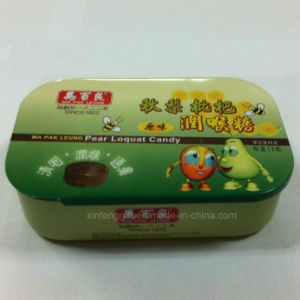 Wholesale Food Tin Packing Box with Printing Custom Artwork pictures & photos