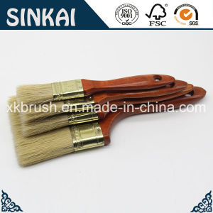 Yellow Plated Utility Paint Brush with Good Price pictures & photos