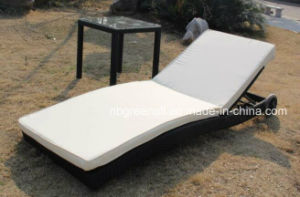 Rattan Double Chaise Lounge pictures & photos