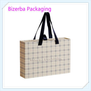 Professional Cardboard Paper Carrier Box with Silk Handle