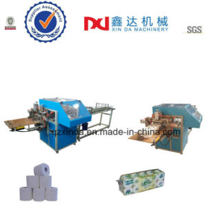 Semi Automatic Kitchen Paper Toilet Paper Sealing Packing Making Machine pictures & photos