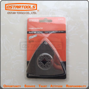 Triangularsanding Pad Hook and Loop Pad pictures & photos