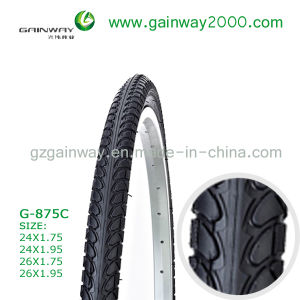 G-875 City Bicycle Tyre/Full Black Color Bike Tyre