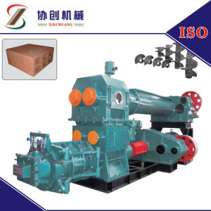 Double Stage Vacuum Extruder, Clay Brick Process Machine