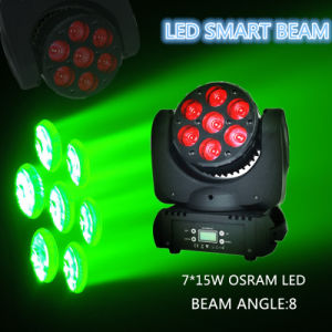Elation 7*15W Disco LED Stage Moving Head Beam Light pictures & photos