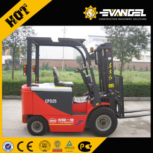 Popular 2.5 Ton Small Electric Forklift Truck Cpd25 pictures & photos