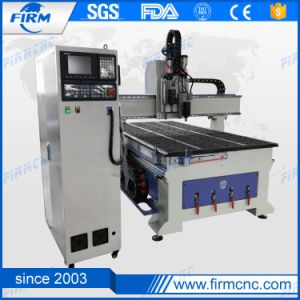 Atc CNC Oscillating Knife Leather Cardboard Carton Cutting Router Machine pictures & photos