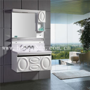 PVC Bathroom Cabinet/PVC Bathroom Vanity (KD-8016) pictures & photos