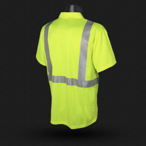 High Vis Safety T-Shirt with ANSI07 (T005) pictures & photos
