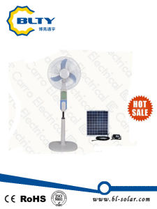 "12V 16"" DC Fan Solar Classic Stand Fan pictures & photos"