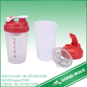 500ml Protein Stainless Strainer Shake Bottle for Water pictures & photos