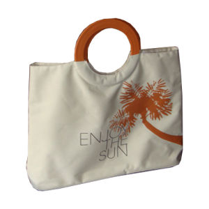 Tote Canvas Hand Beach Bag for Women pictures & photos