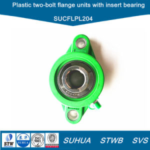Plastic Rhombus Two-Bolt Flange Units with Insert Bearing (SUCFLPL204) pictures & photos