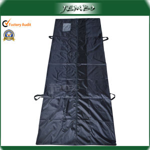 Polyester 420d Handle Zipper Hospital Dead Body Bag pictures & photos