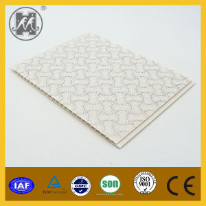 25mm*7mm Hot Stamping Artistic PVC Ceiling Designs, High Quality PVC Ceiling Panel China Supplier pictures & photos